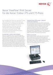 FreeFlow™ Print Server for the Xerox C75