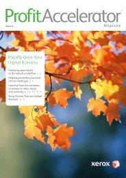 ProfitAccelerator Magazine volume 3 (PDF,  1.5 MB) - Xerox