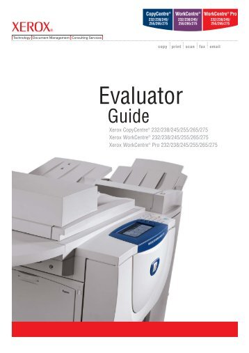 workcentre pro 35 45 55 product brochure pdf 564 kb xerox rh yumpu com Xerox WorkCentre 7845 Xerox WorkCentre 7845
