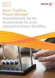 Xerox® FreeFlow Process Manager® Automatisieren Sie die ...