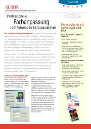 kalibrierungssoftware - Xerox