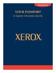 YOUR PASSPORT - Xerox