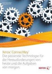 dazu in der Broschüre Interaktive PDF ansehen - Xerox