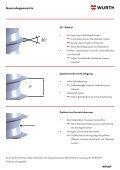 Schrauben für thermoplastische Kunststoffe - Würth Industrie ... - Seite 2