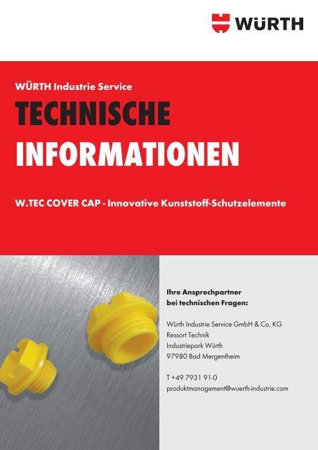 technische informationen - Würth Industrie Service GmbH & Co. KG