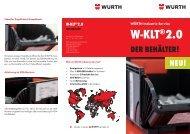 W-KLT 2.0-Kanban-Behälter-Flyer - Würth Industrie Service GmbH ...