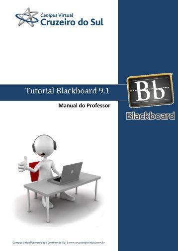 Manual do Professor - Campus Virtual