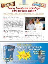 Sabory investe em tecnologia para produzir picolés - Publitecbrasil ...