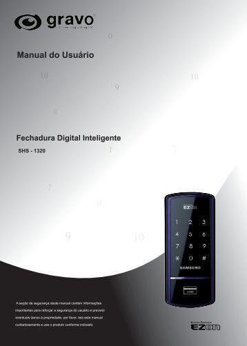 1 10 9 0 0 7 10 2 Manual do Usuário 8 - Gravo