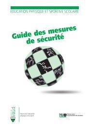 Guide des mesures de sécurité - Canton de Vaud