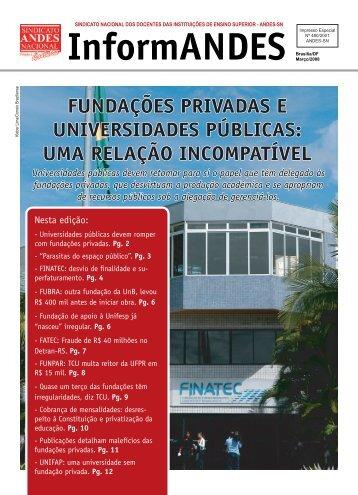 fundações privadas e universidades públicas: uma ... - Asduerj