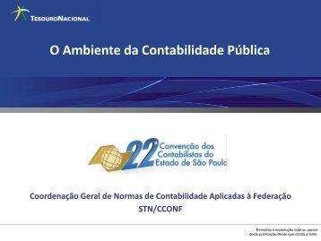 O Ambiente da Contabilidade Pública - Contador Público