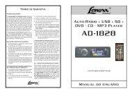 Manual de Instrução - Lenoxx Sound