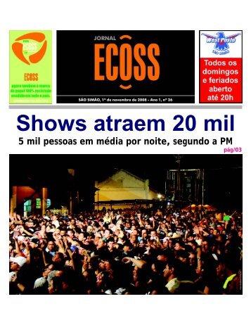 Jornal Ecoss Edição Nº 26 - Ogawa Butoh Center