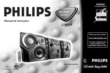 Manual de Instruções - Philips