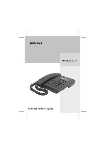 euroset 3025 Manual de Instruções - Alca System