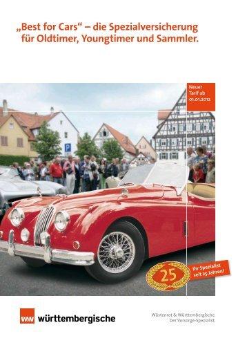 """""""Best for Cars"""" – die Spezialversicherung für Oldtimer, Youngtimer ..."""