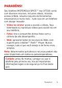 Manual do aparelho Arquivo PDF - Claro - Page 3
