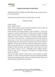 conselho nacional de educação - Santos JR