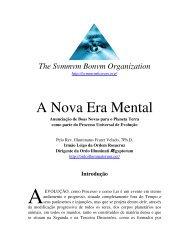 A Nova Era Mental - Ordo Svmmvm Bonvm