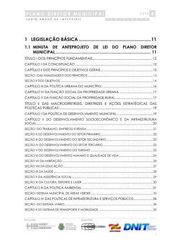 plano diretor municipal - câmara de vereadores de santo amaro da ...