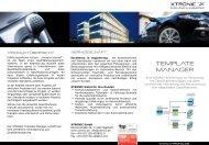 Download Produktflyer - XTRONIC GmbH