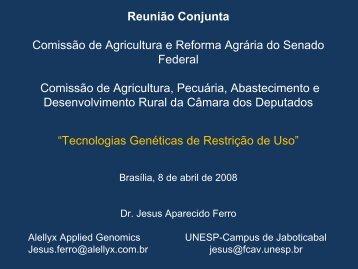 PROJETO DE LEI Nº 268 / 2007 - Senado Federal