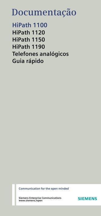 Telefones analógicos - ruscheltelefonia.com.br