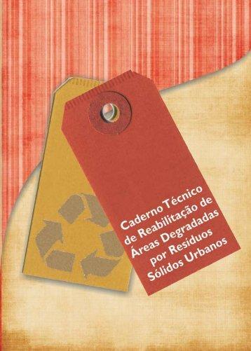 Caderno Técnico sobre Reabilitação de Áreas Degradadas ... - Feam