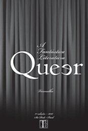 A Fantástica Literatura Queer - Vermelho - Tarja Editorial