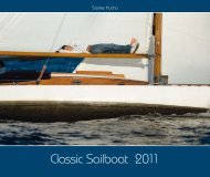 Classic Sailboat 2011 Kalender - Yacht-Photo.de