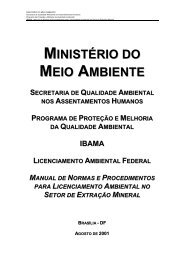 Manual de Normas e Procedimentos para Licenciamento Ambiental