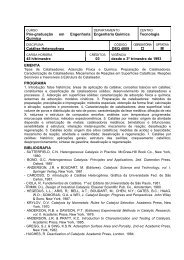 EP - Departamento de Engenharia Química