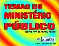 temas do ministério público - Serrano Neves