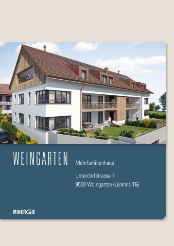Mehrfamilienhaus, Weingarten (Hier anklicken, um ... - Ed. Vetter AG