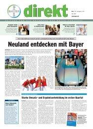 Neuland entdecken mit Bayer - Wuppertal - Bayer