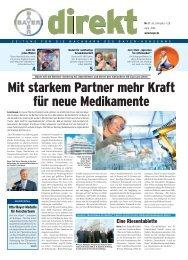 Mit starkem Partner mehr Kraft für neue ... - Wuppertal - Bayer