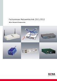 Fachseminare Netzwerktechnik 2011/2012 - Yello NetCom GmbH