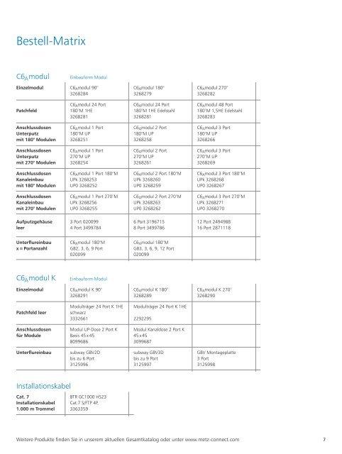 Datenblatt - Yello NetCom GmbH