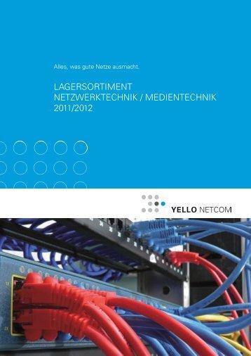 lagersortiment netzwerktechnik / medientechnik 2011/2012