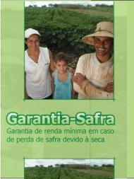 Cartilha - Garantia Safra.pdf - Ministério do Desenvolvimento Agrário