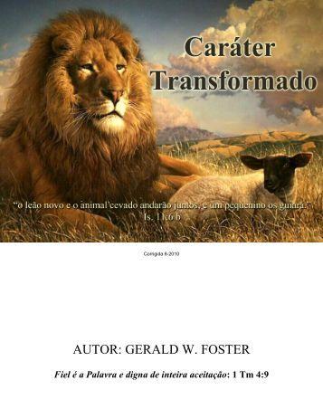 Carácter_Transformada - Palavra e Espirito