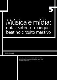 Música e mídia: - Faculdade Social