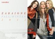 zabaione fall/winter 2012