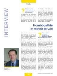 Heft 04 - Zentralverband der Ärzte für Naturheilverfahren