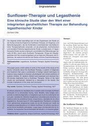 Heft 08 - Zentralverband der Ärzte für Naturheilverfahren