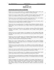 INDICE PRIMERA SECCION PODER EJECUTIVO SECRETARIA DE RELACIONES EXTERIORES