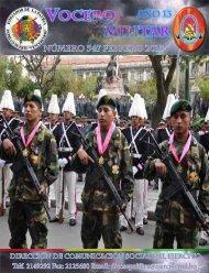 los SOLDADOS que fueron detenidos y ... - Ejército de Bolivia