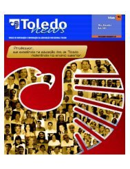 Pág 1.p65 - Toledo Presidente Prudente