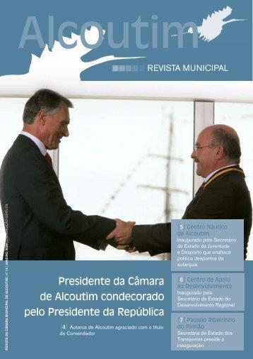 Presidente da Câmara de Alcoutim condecorado pelo Presidente da ...